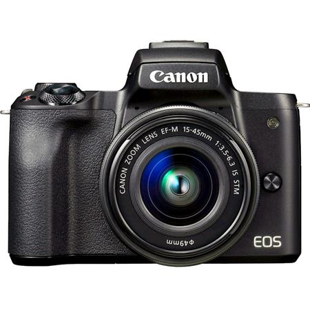 CANON EOS M 50 MIRRORLESS KIT 15-45MM EF IS STM BLACK