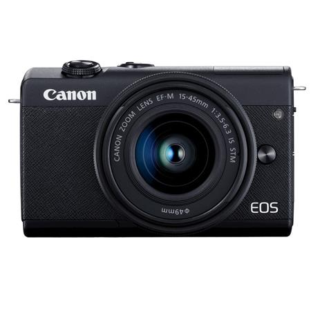 Canon Eos M200 Mirrorless Kit 15-45mm EF IS STM Black