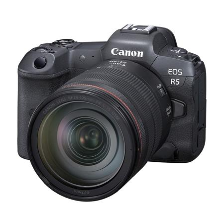 CANON EOS R5 MIRRORLESS KIT 24-105 F:4 L IS USM