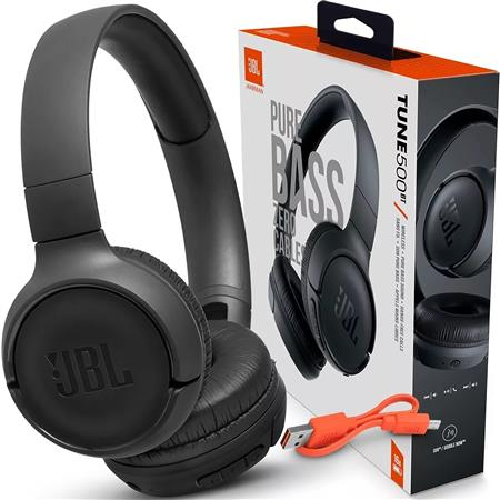 JBL AURICULARES BLUETOOTH MOD. BT500 COLOR NEGRO