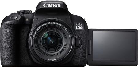 Canon Eos 800D  Kit Con Objetivo 18-55mm STM IS (EOS T7i)
