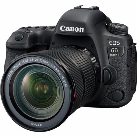 Camara Canon KIT EOS 6D Mark II con 24-105mm STM