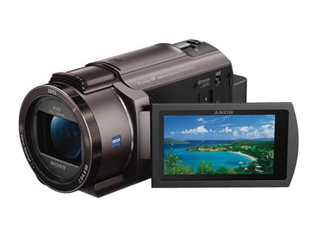SONY Video Camara FDR-AX40 - 4K con Zoom de 20X