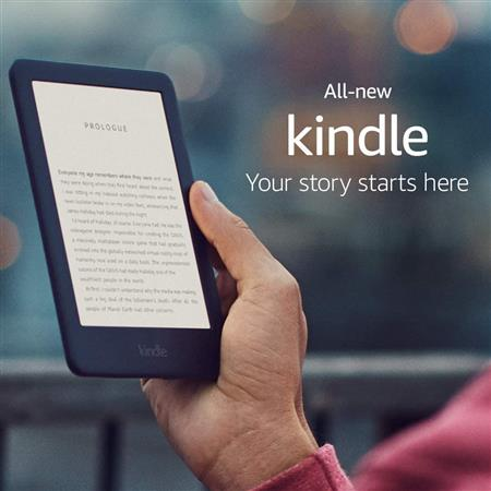 "Amazon Kindle 6"" Wifi 10ma Generación 8gb Black"